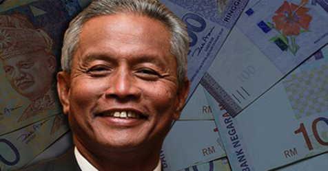 马来西亚财政部副部长拿督阿曼兹