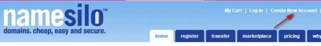 NameSilo域名注册教程(送你 1 美金 NameSilo优惠码)