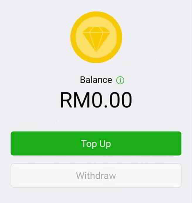 完成添加银行卡、填写个人资料后,就能开通你的马币WeChat Pay微信支付钱包了