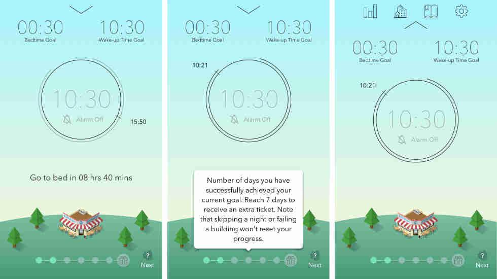 SleepTown应用:培养早睡早起的习惯