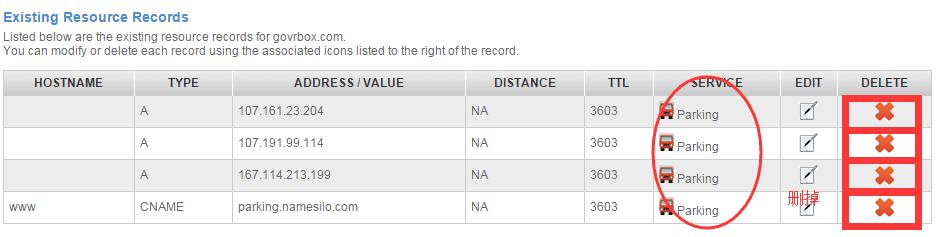 NameSilo将域名NS解析到Bluehost/SiteGround教程