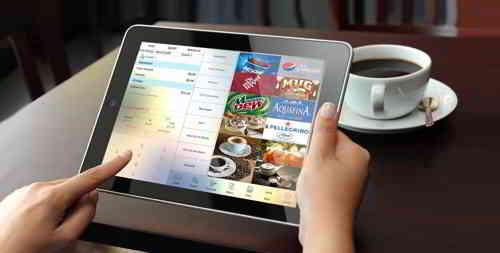 iPad智能手机扫码点餐系