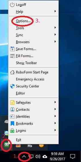 RoboForm8如何导出CSV文件导入到KeePass管理器?