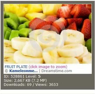 FRUIT PLATE 水果盘