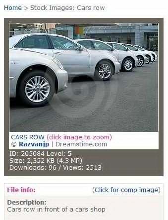 CARS ROW 汽车行