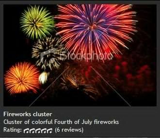Fireworks cluster 烟花集群