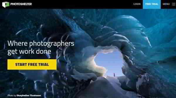 Photoshelter 照片出售网站