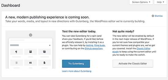 WordPress Gutenberg(古腾堡)编辑器