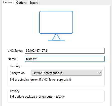 下载tightvnc软件,或realvnc软件,连接到我们的服务器