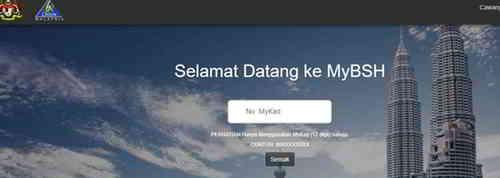 登录MyBSH官网,输入身份证号码