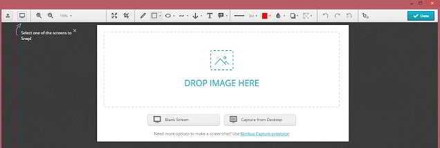 截图成功后,Nimbus 截图 插件将在面板中显示截图的图像