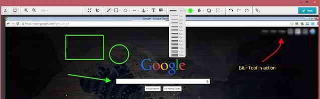Nimbus 截图 插件提供了丰富的图像编辑工具,包括文本,箭头,模糊,贴纸等