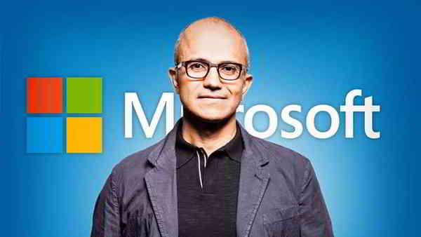 """微软CEO(首席执行官)名字叫""""萨蒂亚"""""""