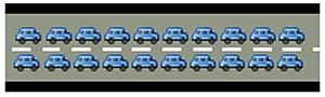 陈沩亮在此仍然使用大桥来做类比,2个CPU意味着大桥有2个通道,通车容量加倍