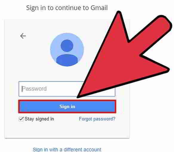 只需使用任何电子邮件地址即可登录Google