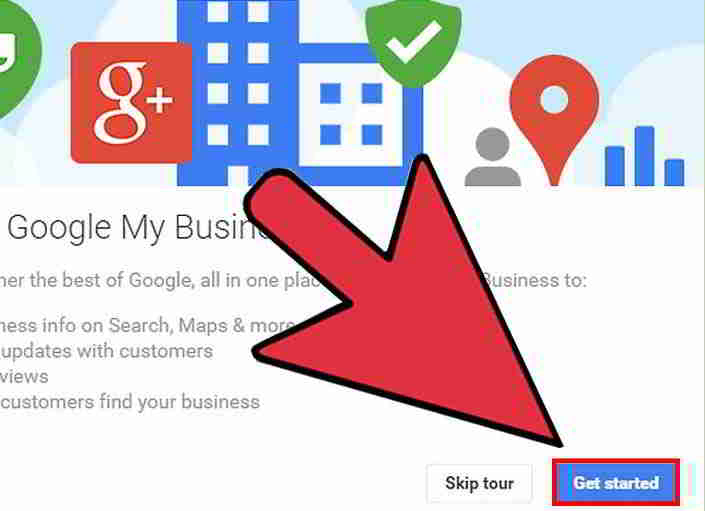 浏览你的Google我的商家信息中心