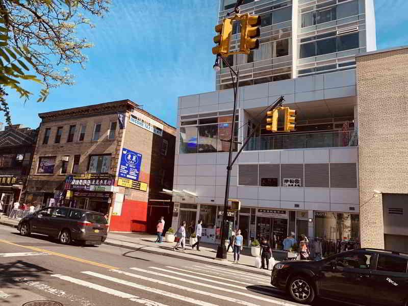 美国纽约法拉盛西联汇款网点代理处的实拍照片2
