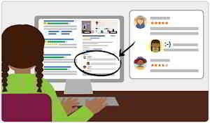 在Google商家与客户互动