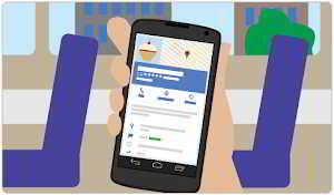 在手机上使用Google 我的商家