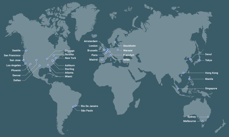 Stackpath全球CDN节点