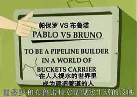 《管道的故事》柏保罗和布鲁诺是现实生活的反映