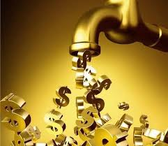 被动收入就好比自来水管道,能连续不断为你提供自来水。