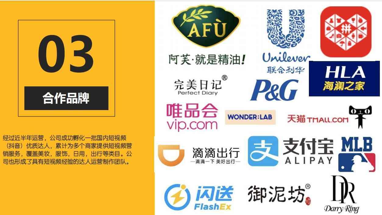 上海银色大地文化传媒公司的合作品牌