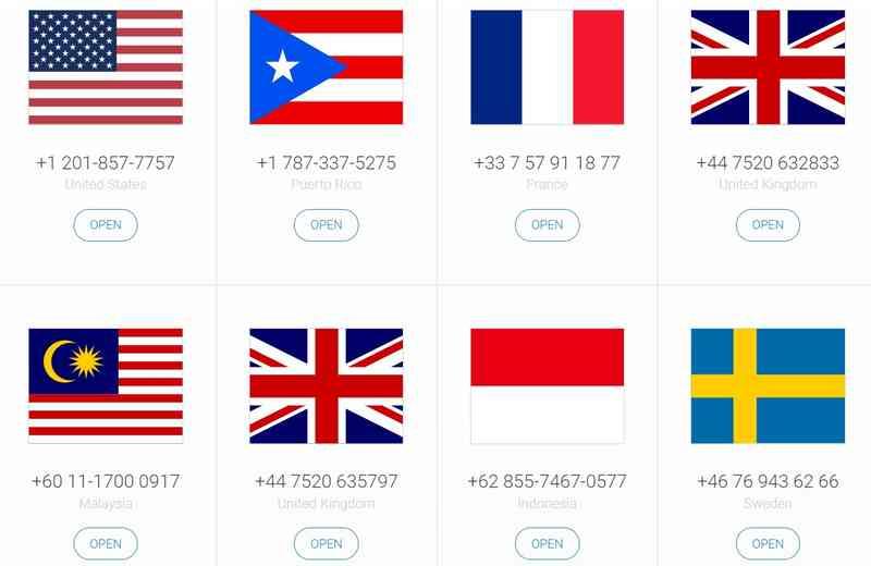2020最新虚拟手机号接码平台:免费注册代收短信验证码