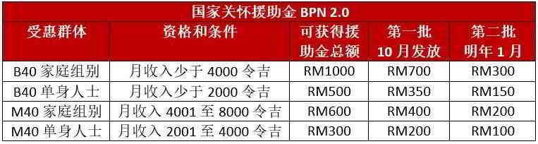 BPN2.0新闻:国家援助金几时发放?Lulus了还没拿到钱?