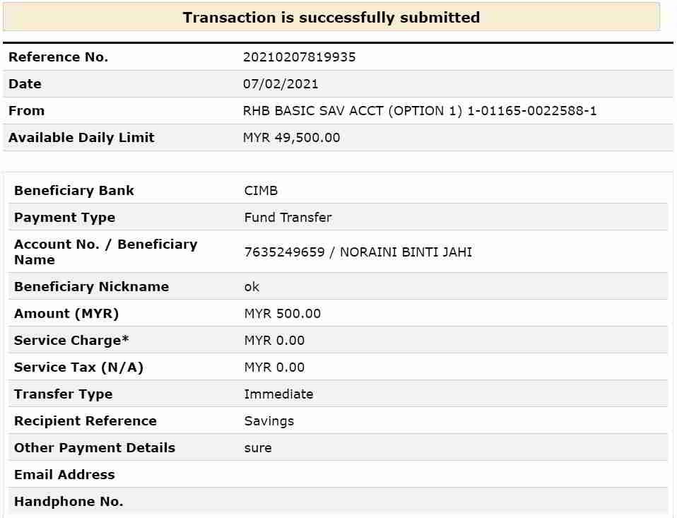骗子假冒马来西亚合法贷款公司,要求进钱给他们,以表明我有还款能力