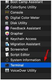 如何清除MAC操作系统(iOS)上的DNS缓存?打开Terminal/终端(相当于WIndows操作系统的命令提示符)