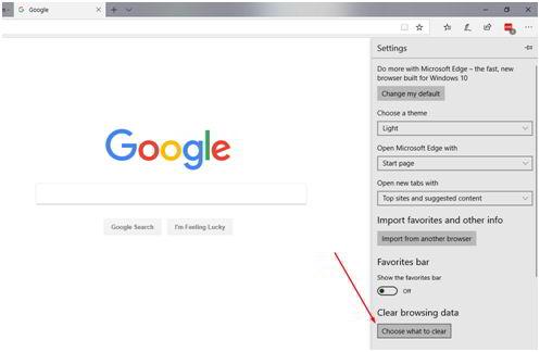 """如何清除Internet Explorer中的DNS缓存?单击清除浏览数据下的""""选择要清除的内容""""选项"""