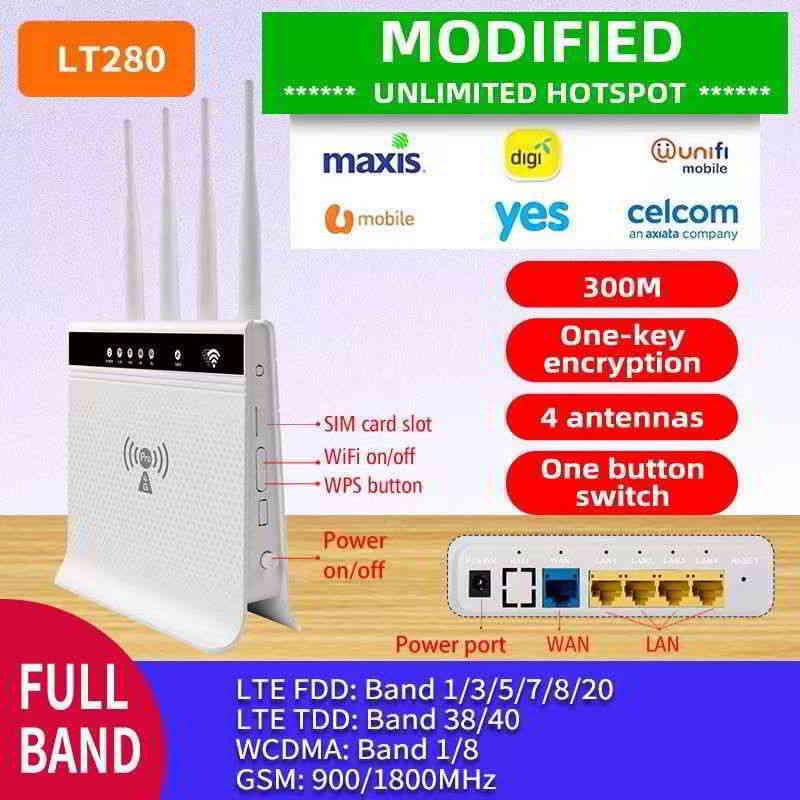 马来西亚什么WiFi最好?最快无限网络Data家用上网配套