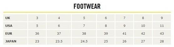 Dr. Martens/马丁大夫女鞋尺码对应表