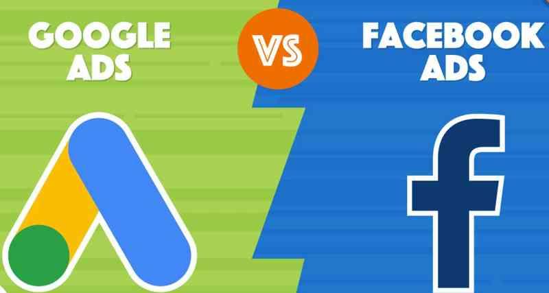 谷歌广告和Facebook广告投放区别:FB和Google哪个贵?