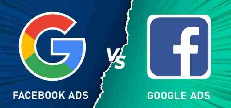 谷歌广告和Facebook广告的比喻